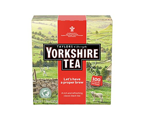 Taylors of Harrogate Yorkshire Red 100 Teabags