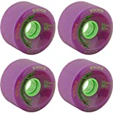 Remember The Hoots Purple Skateboard Wheels - 70mm 80a (Set of 4)