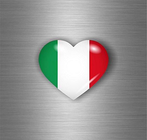 Akachafactory Aufkleber Sticker Auto Motorrad Tuning Flagge Italien Italienisch Italia C ½ UR