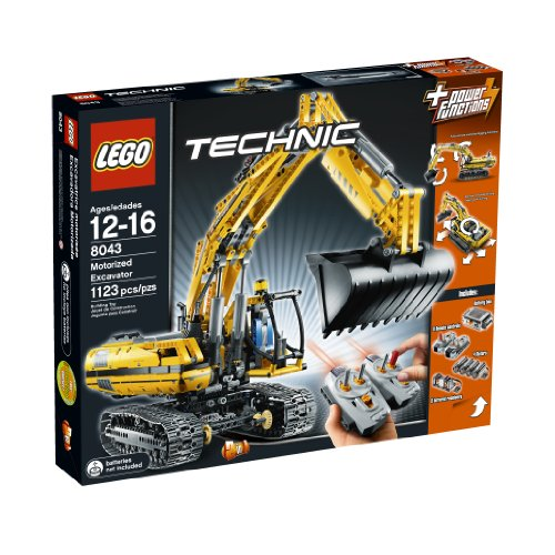 Technic - Schaufelbagger mit Motor - 8043
