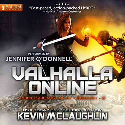 Valhalla Online audiobook cover art
