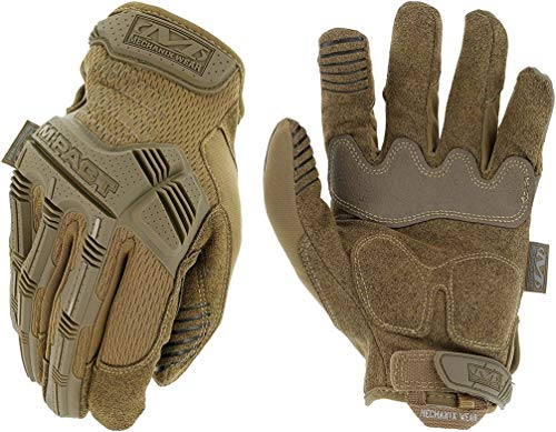 Mechanix Wear - M-Pact Coyote Tactical Gloves (Medium, Brown)
