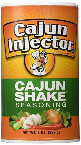 Cajun Injector Cajun Shake Seasoning - 8 Ounce Canister