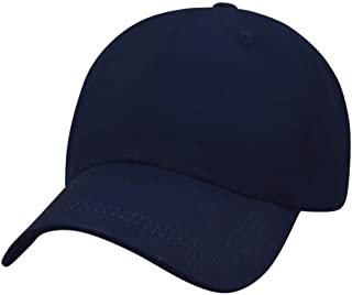 Polo Baseball Cap, 100% Cotton Classic Baseball Hat, Unstructured Low Profile Plain Dad Caps for Men and Women