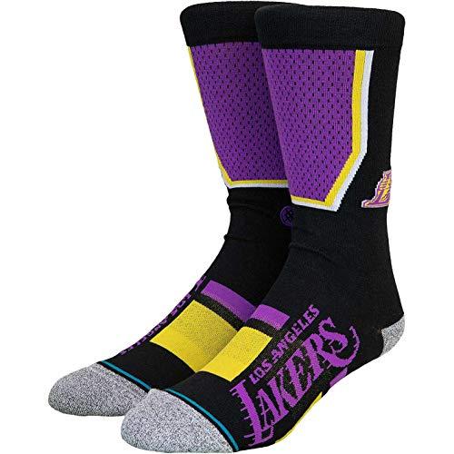 Stance NBA LA Lakers Shortcut 2 Socken (43 EU- 47 EU, Purple)