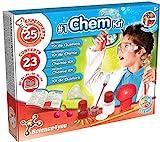 Science4you - Premier Kit de Chimie pour Enfants +8 Ans - Laboratoire Science avec 25 Experiences Scientifiques dond des Lunettes de Chimie pour Le Petit Chimiste 8 Ans, Activite Manuelle et Educatif
