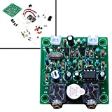 Qianson Shortwave Transmitter Receiver HAM Radio 40M CW Version 4.1 7.023-7.026MHz QRP Pixie Kits DIY with Buzzer Transceiver