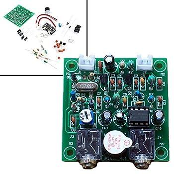 Shortwave Transmitter Receiver HAM Radio 40M CW Version 4.1 7.023-7.026MHz QRP Pixie Kits DIY with Buzzer Transceiver