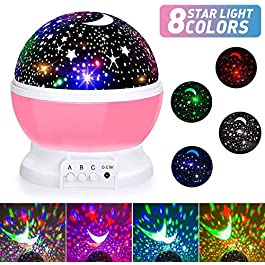 Star Night Light Projector, LED Night for Kids and Friends