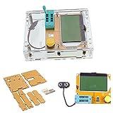 Ximimark LCR-T4 Mega328 Transistor Tester ESR Meter MOS NPN/PNP Diode Triode Capacitance with Clear Case