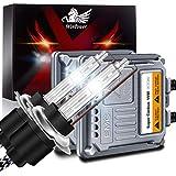 WinPower H7 55W Auto Kit Xenon HID con Zavorra e CAN-Bus Super decoder Faro Sostituzione Lampadina 6000K Puro Bianca, 2 pezzi