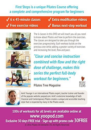 First Steps Pilates Course - 3 DVD Boxset