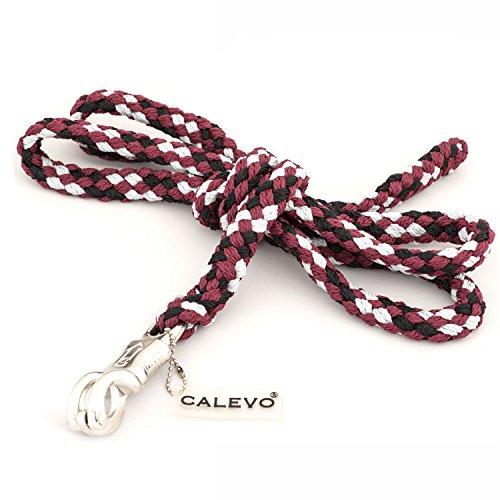 CALEVO - Anbindestrick mit Panikhaken Stripes