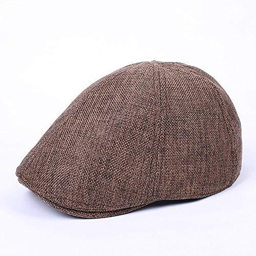 UAOOK London Herren Retro Baumwolle Sommer/Herbst Newsboy Irish Ivy Caps Hut Gatsby Duckbill Hut...