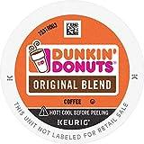 Dunkin' Original Blend Medium Roast Coffee, 128 K Cups for Keurig Coffee Makers