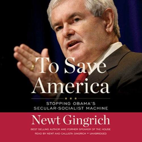To Save America audiobook cover art