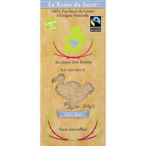 La Route du Sucre - Sucre roux de l'Ile Maurice - La boite de 335g - Prix Unitaire - Livraison Gratuit Sous 3 Jours