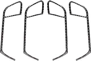 gazechimp ドアハンドルフレーム ハンドルプロテクター ステッカー 装飾 トリム フィットアウディA4 A5 B8 09-16用