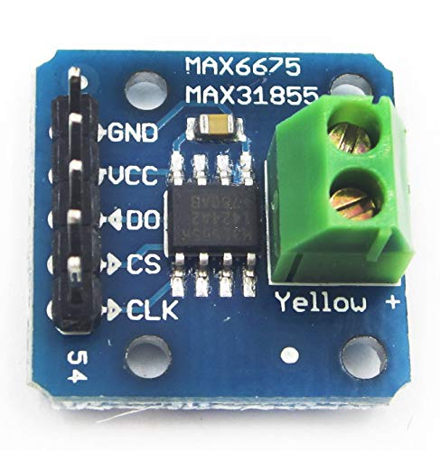 MAX6675 MAX31855 K Type Thermocouple Breakout Board -200C to +1350°C Temperature