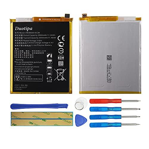 Duotipa Batería de repuesto HB366481ECW compatible con Huawei P9 P9 Lite P20 Lite Honor 8 batería con herramientas