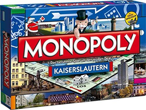 Monopoly Kaiserslautern Stad Edition - Het beroemde spel om de grote deal!