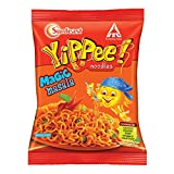Yippee noodles has no artificial colours added in the masala and has the goodness of wheat protein in the block So go on and take a long slurp of the non-sticky and yummy yippee noodles Enjoy the delicious blend of unique spices and five different ty...
