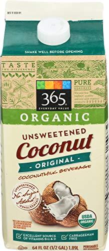 365 by Whole Foods Market, Coconut Milk Unsweet Original Organic, 64 Fl Oz