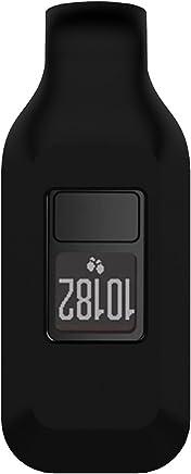 Garmin Vivofit 3/JR Clip Holder, XIHAMA Silicone Replacement Accessories Clip Clasp for Garmin Vivofit 3 & Vivofit JR Activity Tracker, Colorful Clasp Holder (Black)