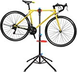 Femor Bike Repair stand,Folding Cycle Bicycle Maintenance Mechanic Work Stand with Tool Tray and Quick Release