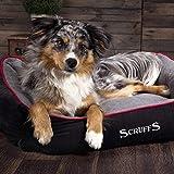 Scruffs 677243 Hunde Thermal Box Bett, M, schwarz