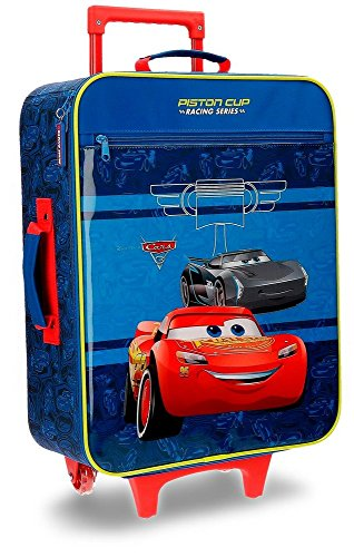 Disney Racing Series - Equipaje Infantil- 25 Litros (Azul)