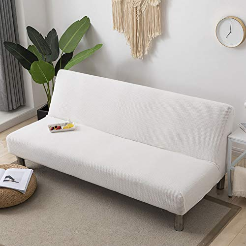 HAOLY Elastic Knitted Sofa Cover,Universal Sofa Cover,Sofa Cover Without Armrests,Full Cover Anti-Slip Sofa Slipcover Couch Slipcover