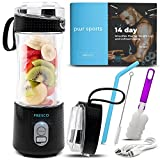 Portable Blender, Personal Size Blender for Shakes and Smoothies,...