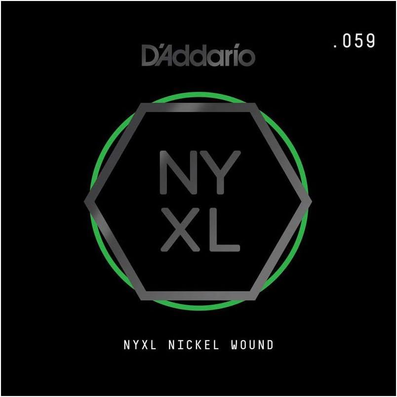 D'Addario NYNW059 - Cuerda para guitarra eléctrica de níquel.059