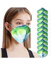 10 Piezas Protección 3 Capas Transpirables con Elástico para Los Oídos, Suave Transpirable Protección Personal