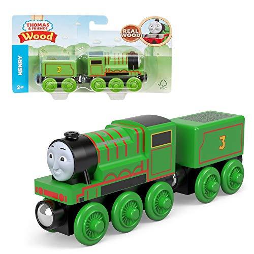 Henry | Mattel GHK13 | Holzeisenbahn Lokomotive | Thomas & Seine Freunde