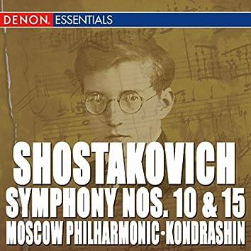Shostakovich: Symphony Nos. 10 & 15