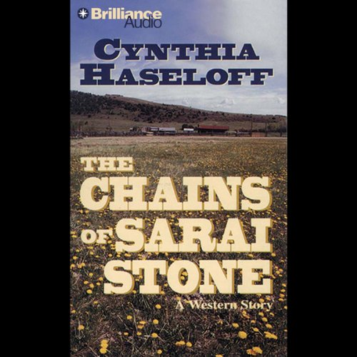 The Chains of Sarai Stone audiobook cover art