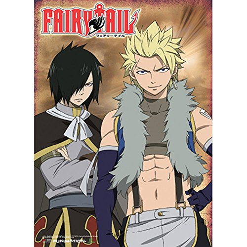 GE Animation Fairy Tail Sting & Rogue Wall Scroll