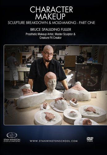 Character Makeup - Sculpture Breakdown & Molding Part 1 by Bruce Spaulding Fuller