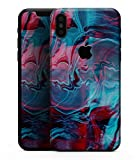 Liquid Abstract Paint Remix V42 - Design Skinz Premium Skin Decal Wrap for The iPhone X