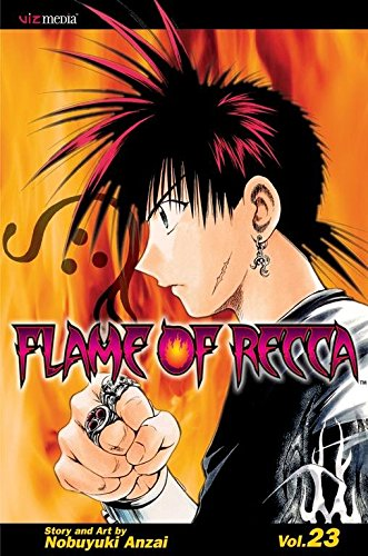 [Flame of Recca: v. 23] (By: Nobuyuki Anzai) [published: February, 2010]