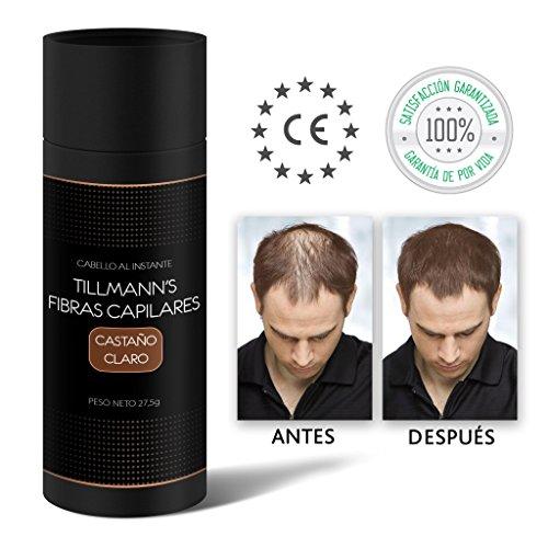 Tillmann's Fibras Capilares Castaño Claro 27,5 gramos – Caida Cab