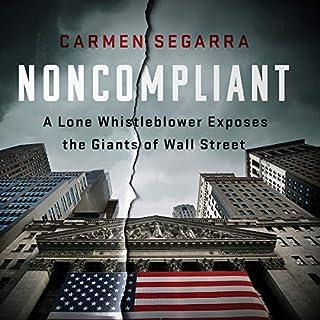 Noncompliant audiobook cover art