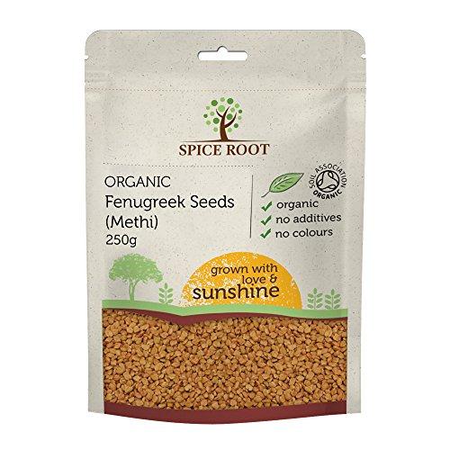 Bio Semillas de Fenugreco Orgánico 250g (Bio Fenugreek Seeds, Methi Seeds)