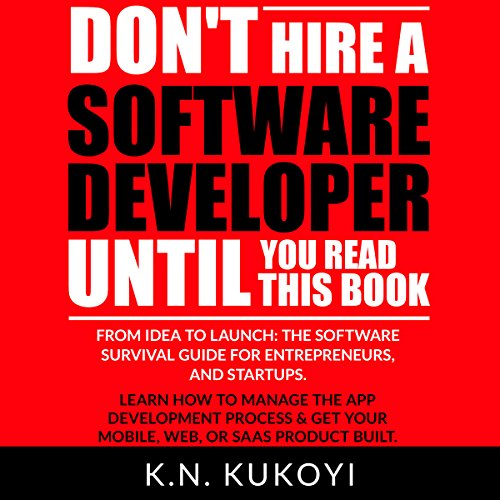 Don't Hire a Software Developer Until You Read This Book audiobook cover art