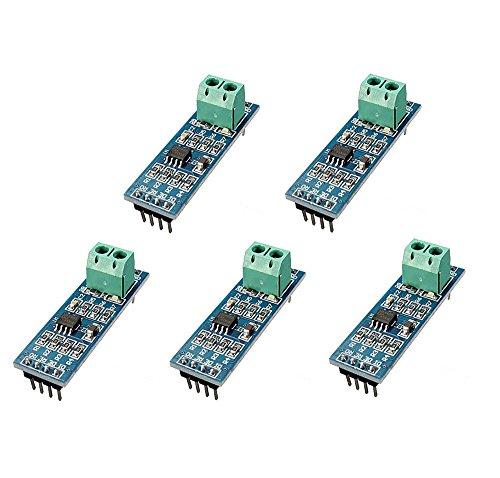 ICQUANZX 5PCS 5V MAX485 / RS485 Module TTL to RS-485 MCU Development Board