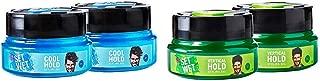Set Wet Cool Hold Hair Styling Gel for Men, 250 ml (Pack of 2) & Set Wet Vertical Hold Hair Styling Gel for Men, 250 ml (Pack of 2)