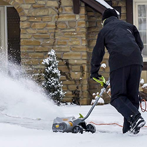 Snowy? Frosty? No problemo with an electric snow shovel 13