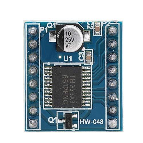 TB6612FNG Dual Drive Modul, Professional TB6612 HW-048 Stepper Zwei-Motor-Treiberplatine TB6612FNG Board Kartenmodul Ultra Small Size